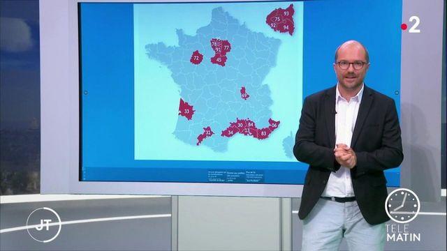 Coronavirus: l'épidémie en expansion en France
