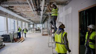 Le secteur du bâtiment, premier concerné par les travailleurs détachés. (MAXPPP)