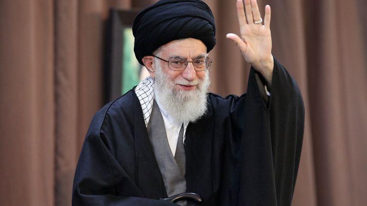 L'ayatollah Ali Khamenei, le 21 mars 2014 à Mashhad (Iran). (HO / KHAMENEI.IR)