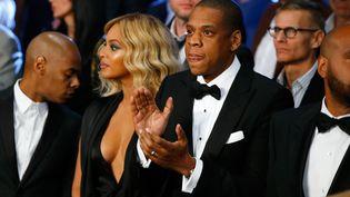 Jay-Z et Beyoncé à Las Vegas, le 21 novembre 2015. (AL BELLO / GETTY IMAGES NORTH AMERICA / AFP)