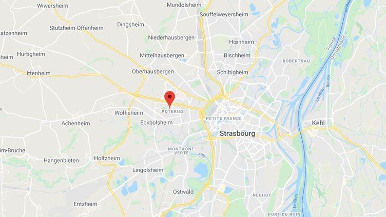 Le stadePaco-Mateo à Strasbourg. (GOOGLE MAPS)