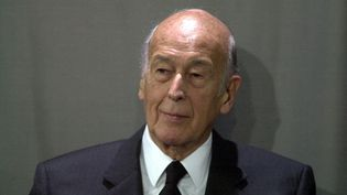 L'ancien président Valéry Giscard d'Estaing àAix-la-Chapelle(Allemagne), le 23 mai 2003. (SVEN SIMON / AFP)