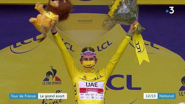 Tour de France : des écarts impressionnants à tous les niveaux