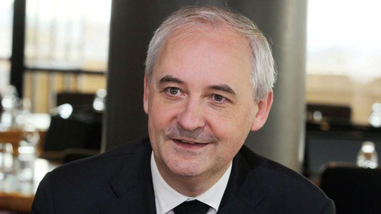 (François Pérol, ex-conseiller de Nicolas Sarkozy devenu patron de la BPCE © MAXPPP)