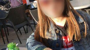 La petite fille de 5 ans blessée à la têtele 4 avril àChanteloup-les-Vignes (Yvelines). (FRANCEINFO)