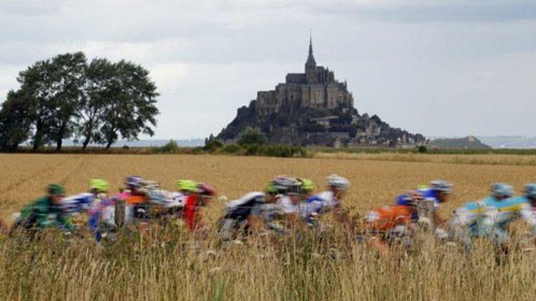 Le Tour de France de retour dans la Manche en 2016 ? (JOEL SAGET / AFP)