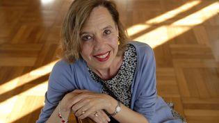 La romancière française Dominique Barberis, en 2010. (ULF ANDERSEN / AURIMAGES / ULF ANDERSEN)