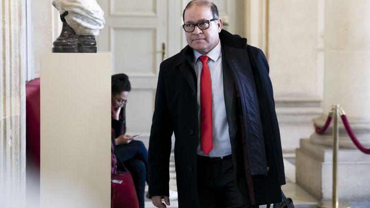 Le député David Lorion à l'Assemblée nationale, à Paris, en février 2019. (VINCENT ISORE / MAXPPP)