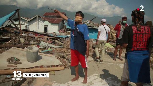 Tsunami en Indonésie : le désarroi de la population face aux secours trop peu nombreux