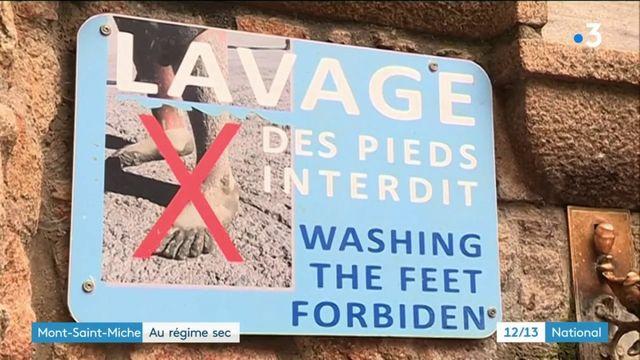 Manche : pour le maire du Mont-Saint-Michel, les touristes consomment trop d'eau