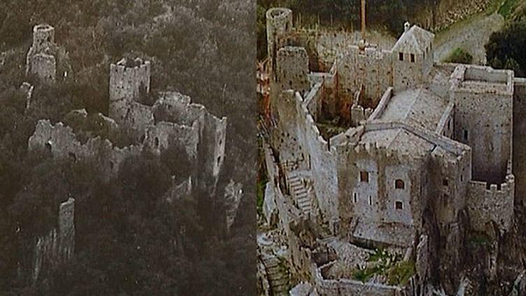Château de Ventadour, 46 ans de chantier  (France3/Culturebox)