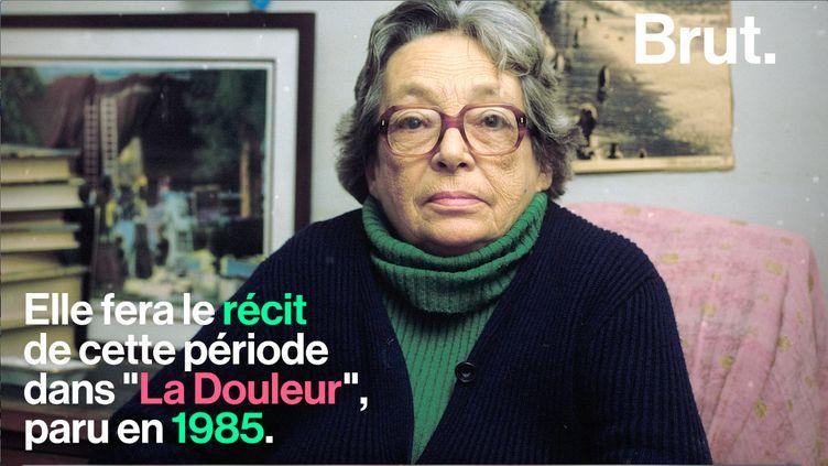 Marguerite Duras est une grande figure de la littérature française. Elle est aussi une femme engagée politiquement. (BRUT)