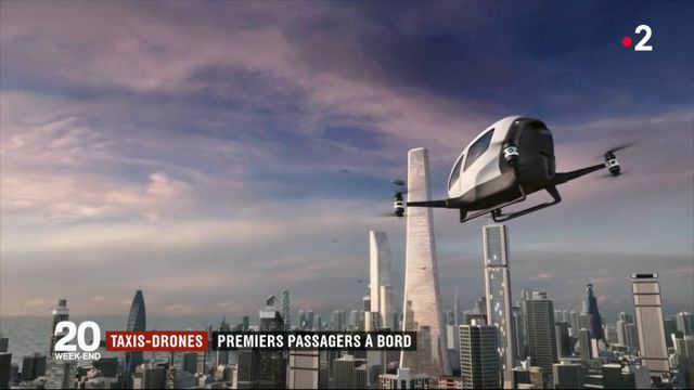 Tech : les taxis-drones font monter à bord leurs premiers passagers