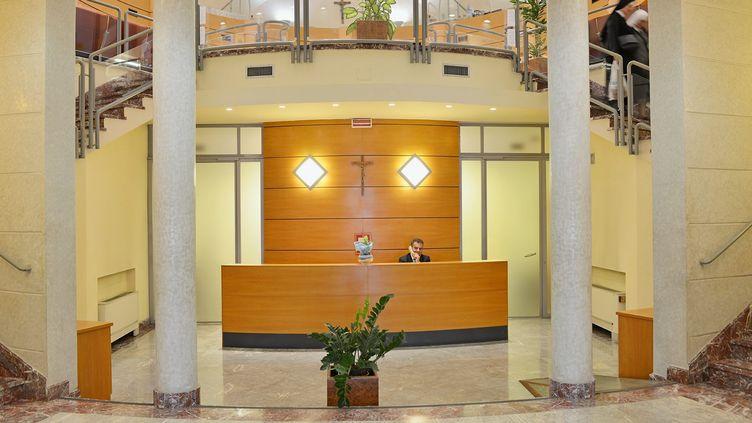 """Au sein de la """"banque du Vatican"""", l'IOR, en 2013. (MAXPPP)"""