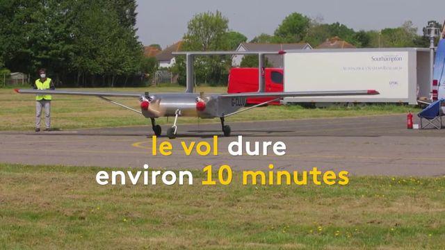 Royaume-Uni : un drone livre du matériel médical à l'hôpital