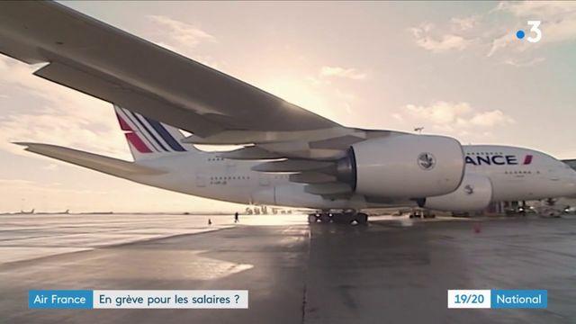 Grève à Air France : les salariés réclament une augmentation