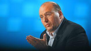 Le vice-président de la région Ile-de-France, Julien Dray, le 9 septembre 2009 à Paris. (LIONEL BONAVENTURE / AFP)