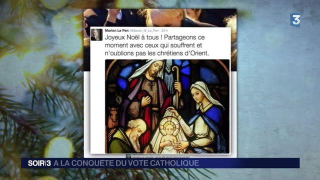 L'électorat catholique au coeur des voeux de Noël des politiques