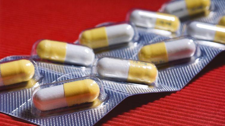 Un antibiotique sous forme de gélules. (MAXPPP)