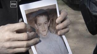 Une photo de Jonathan Coulom, retrouvé ligoté dans un étang au printemps 2004. (FRANCE 3)