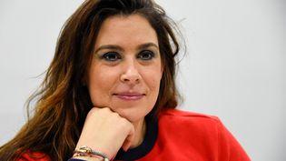 Marion Bartoli lors d'une conférence de presse à Paris le 20 décembre 2017 (BERTRAND GUAY / AFP)