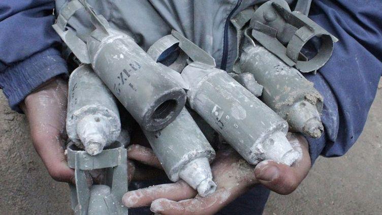 Armes à sous-munitions en Syrie en 2013. (Reuters / )