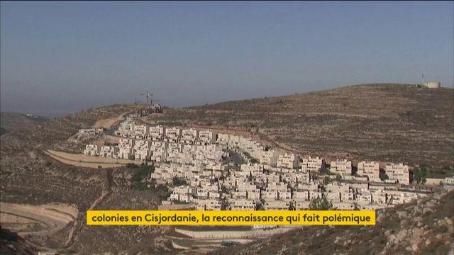 Les Etats-Unis ne jugent pas forcément illégales les colonies d'Israël en Cisjordanie
