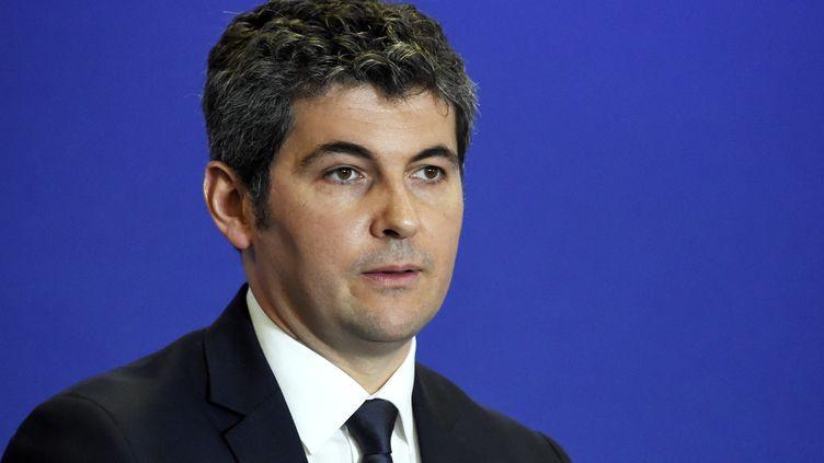 Gilles Platret est maire de Chalon-sur-Saône et président des Républicains de Saône-et-Loire. (DOMINIQUE FAGET / AFP)