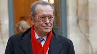 Le Défenseur des droits Dominique Baudis, le 11 décembre 2013 à Paris. (CITIZENSIDE / BERNARD MÉNIGAULT / AFP)
