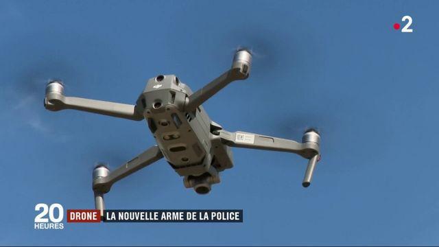 Tech : le drone, nouvelle arme de la police