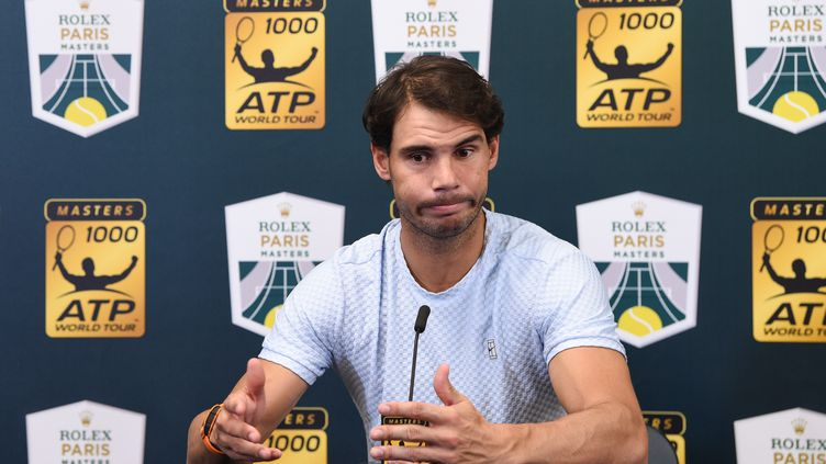 Rafael Nadal a déclaré forfait pour le Masters 1000 de Paris  (ANNE-CHRISTINE POUJOULAT / AFP)