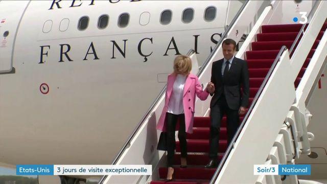 Emmanuel Macron aux Etats-Unis : une visite exceptionnelle