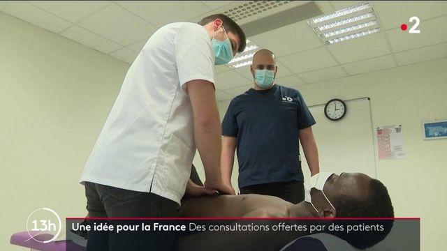 Une idée pour la France : quand des patients offrent des consultations d'ostéopathie