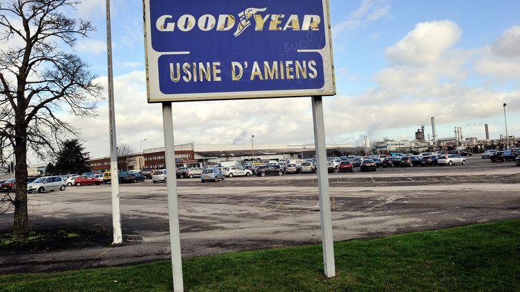 L'usine Goodyear d'Amiens-Nord (Somme), le 7 février 2013. (PHILIPPE HUGUEN / AFP)