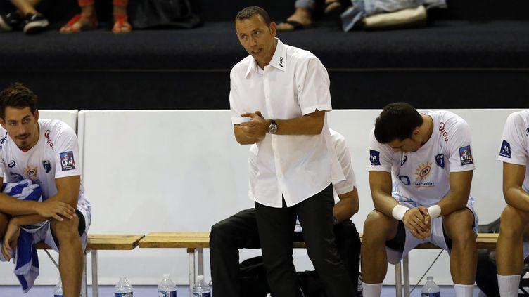 Patrice Canayer, l'entraîneur montpelliérain (PHILIPPE LAURENSON / BLUEPIX)
