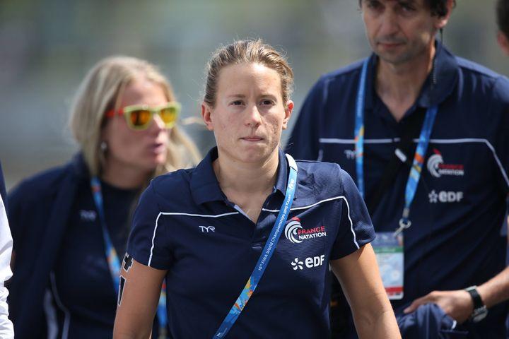 La nageuse française Aurélie Muller