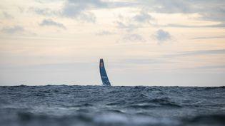 """""""LinkedOut"""" dans sa dernière ligne droite du Vendée Globe. (Pierre Bouras / TR RacingL)"""
