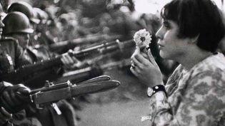 La jeune fille et la fleur  (Marc Riboud)
