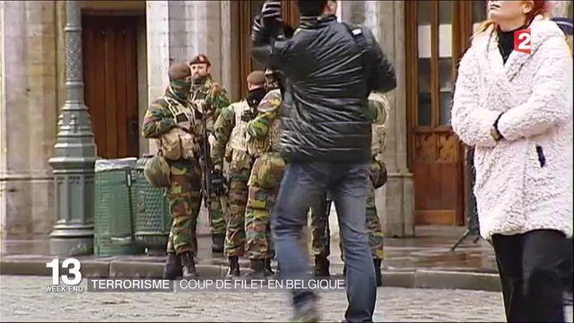Terrorisme : opération de grande ampleur menée en Belgique