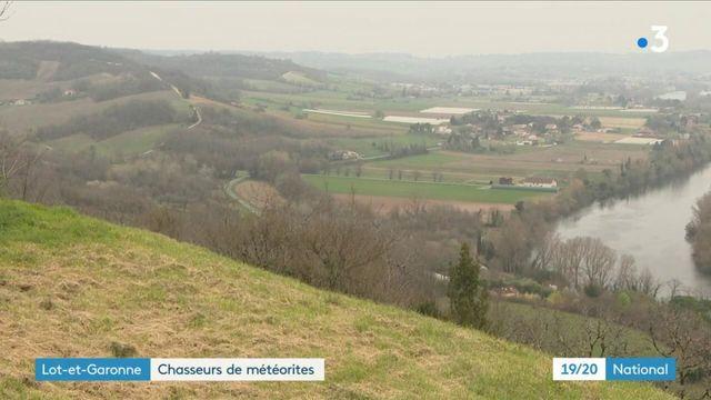 Lot-et-Garonne : à la recherche de la météorite