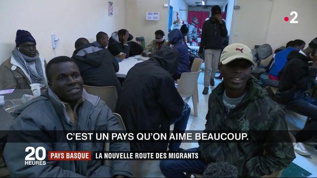 Migrants : le Pays basque, nouvelle porte d'entrée en France