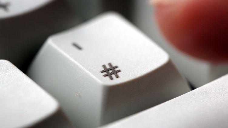 """La touche """"dièse"""" sur le clavier d'un ordinateur. (MAXPPP)"""