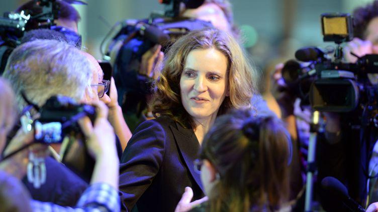 Nathalie Kosciusko-Morizet, samedi 30 mai 2015 à Paris, lors du congrès fondateur des Républicains. (STEPHANE DE SAKUTIN / AFP)
