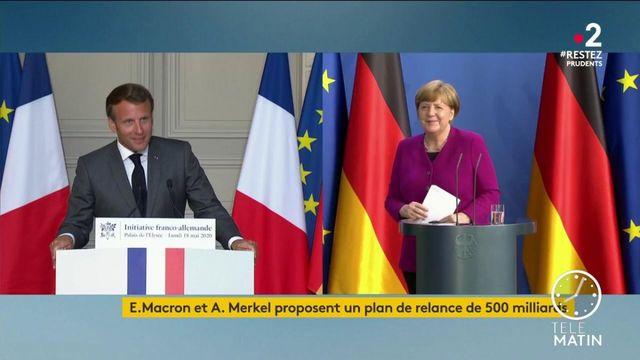 Coronavirus : un plan franco-allemand inédit pour relancer l'économie européenne