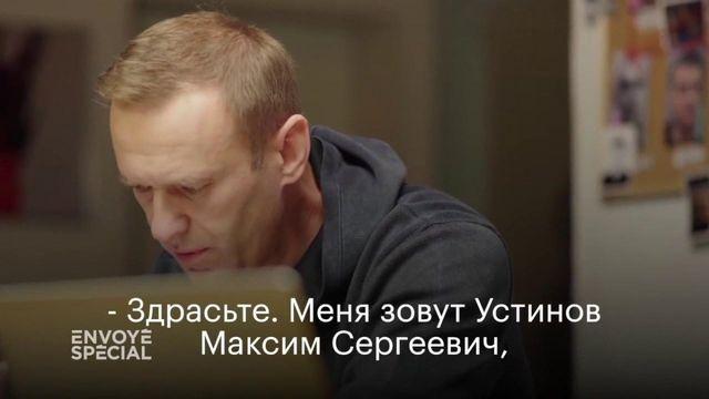 Envoyé spécial. Tentative d'empoisonnement de Navalny :  quand un opposant fait avouer le FSB