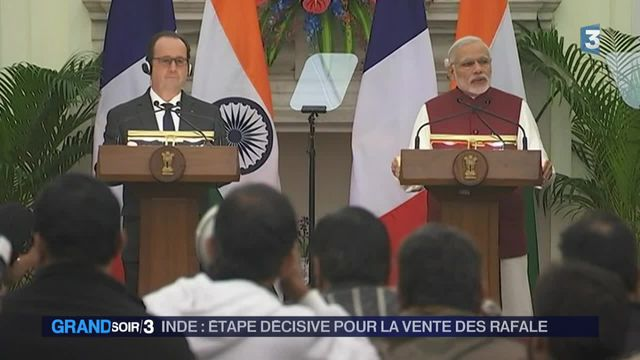 Hollande en Inde