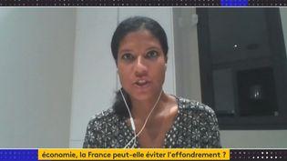 Anne-Sophie Alsif (Capture d'écran Franceinfo)