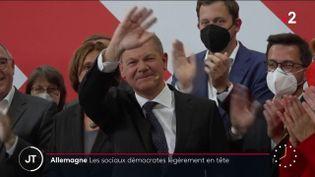 Olaf Scholz (SPD) (France 2)