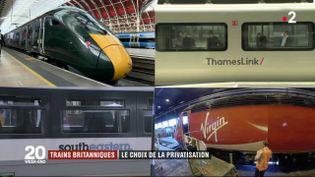 Trains britanniques : le choix de la privatisation (FRANCE 2)