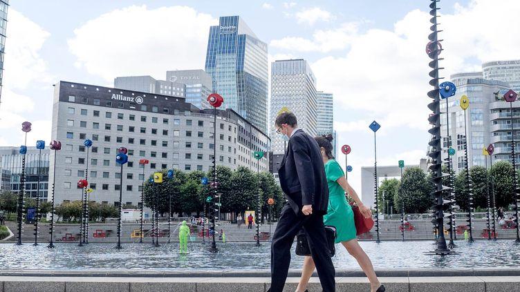 Le quartier des affaires La Défense en juin 2020 (BRUNO LEVESQUE / MAXPPP)